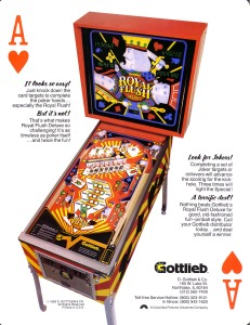 The first pinball game for Bit Fest